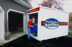 portable storage from American Portable Mini Storage