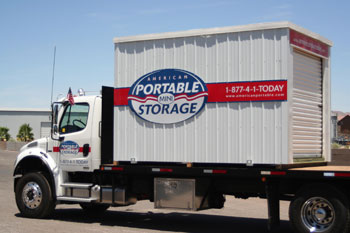 moving portable storage from American Portable Mini Storage